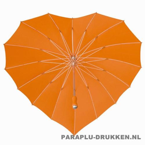 hartjes paraplu bedrukken, paraplu bedrukt, paraplu met logo, paraplu met opdruk, LR-8