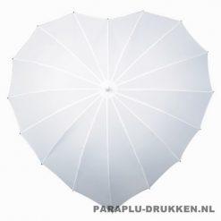 Hartjes paraplu, paraplu bedrukken, paraplu bedrukt, bedrukte paraplu, paraplu met logo, paraplu met opdruk, lr-8