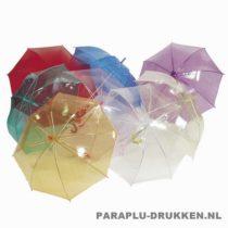 tulp paraplu, paraplu bedrukken, paraplu bedrukt, paraplu met logo, paraplu met opdruk, TLP-4