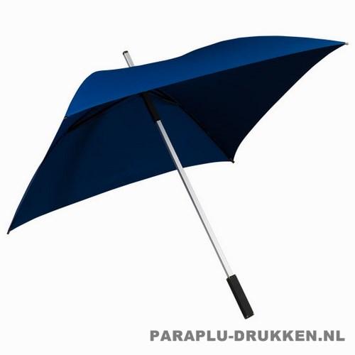 vierkante paraplu, paraplu bedrukken, paraplu bedrukt, paraplu met logo, paraplu met opdruk, GP-44