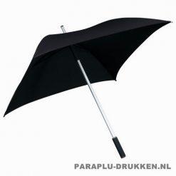 vierkante paraplu, paraplu bedrukken, paraplu bedrukt, paraplu met logo, paraplu met opdruk, LGF-44