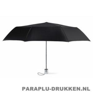 Paraplu bedrukken, snel, dames, zwart