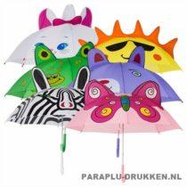 Kinder paraplu bedrukken CN-751 assorti