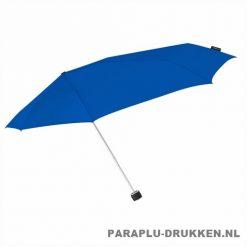 Storm paraplu Stormini opvouwbaar blauw zij