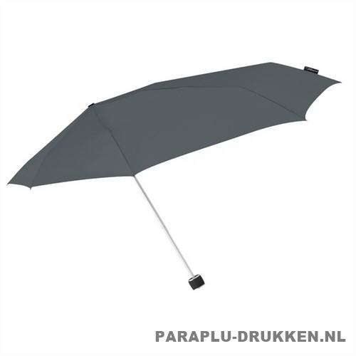 Storm paraplu Stormini opvouwbaar grijs zij
