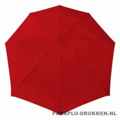 Storm paraplu Stormini opvouwbaar rood top