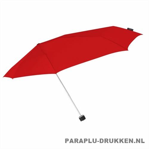 Storm paraplu Stormini opvouwbaar rood zij