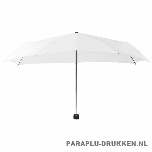 Storm paraplu Stormini opvouwbaar wit voor