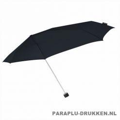 Storm paraplu Stormini opvouwbaar zwart zij