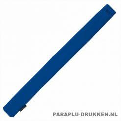 Storm paraplu stormaxi bedrukken blauw foedraal