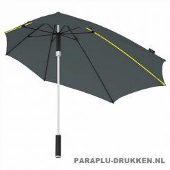 Storm paraplu stormaxi bedrukken grijs logo