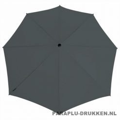 Storm paraplu stormaxi bedrukken grijs top