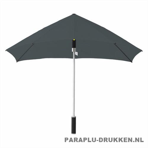 Storm paraplu stormaxi bedrukken grijs voor