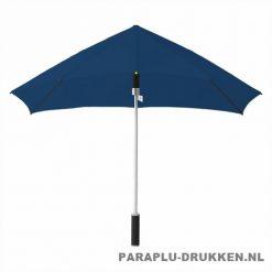 Storm paraplu stormaxi bedrukken navy voor