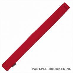 Storm paraplu stormaxi bedrukken rood foedraal
