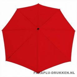 Storm paraplu stormaxi bedrukken rood top
