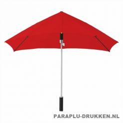 Storm paraplu stormaxi bedrukken rood voor
