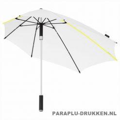 Storm paraplu stormaxi bedrukken wit logo