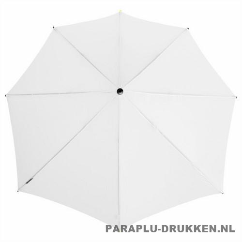 Storm paraplu stormaxi bedrukken wit top