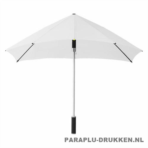 Storm paraplu stormaxi bedrukken wit voor