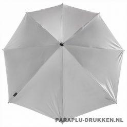 Storm paraplu stormaxi bedrukken zilver top