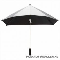 Storm paraplu stormaxi bedrukken zilver voor