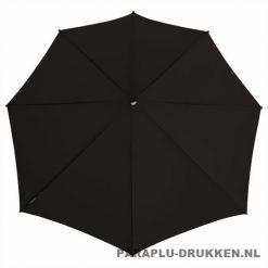Storm paraplu stormaxi bedrukken zwart top