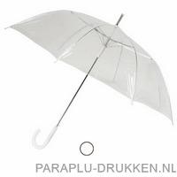 transparante paraplu bedrukken LA-20