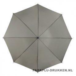 Golf paraplu bedrukken GP-6 licht grijs goedkoop