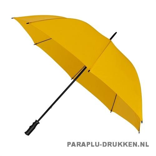 Golf paraplu bedrukken GP-6 oker donker geel