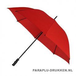 Golf paraplu bedrukken GP-6 rood
