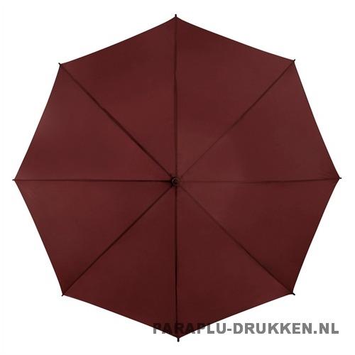 Golf paraplu bedrukt GP-6 bordeaux goedkoop