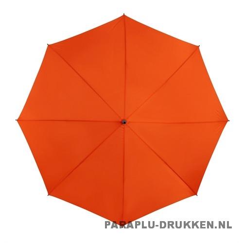 Golf paraplu bedrukt GP-6 oranje goedkoop