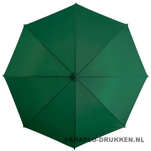 Golf paraplu donker groen logo