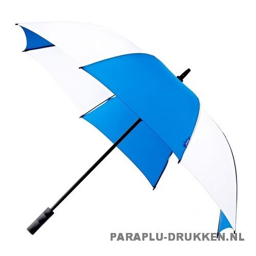 Luxe paraplu bedrukken GP-59 blauw wit golf