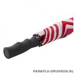 Luxe paraplu bedrukken GP-59 rood wit windproof