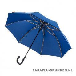 Luxe paraplu bedrukken GP-67 blauw stormparaplu