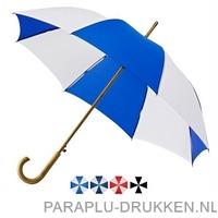 Luxe paraplu bedrukken LA-18 duo kleuren