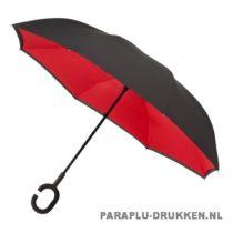 Luxe paraplu bedrukken RU-6 rood