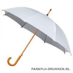 Goedkope paraplu bedrukken LA-15 wit