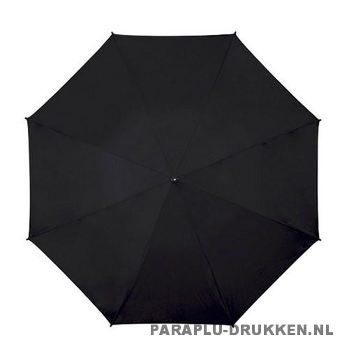 Golf paraplu bedrukken GP-56 zwart top
