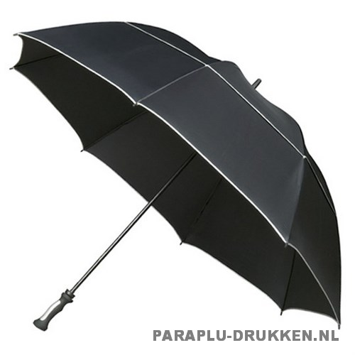 Golf paraplu bedrukken GP-80 zwart