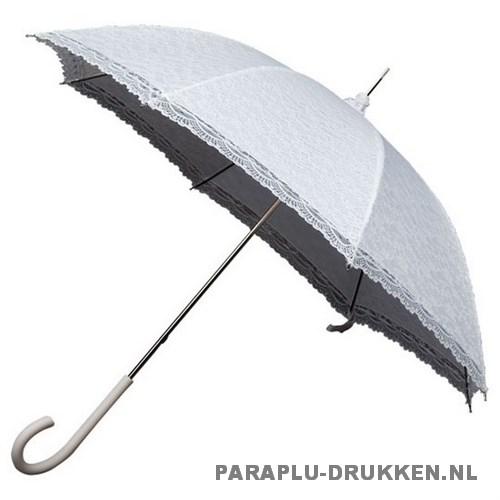 Luxe paraplu LR-1 wit