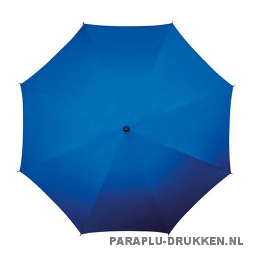 Luxe paraplu bedrukken LA-17 blauw top