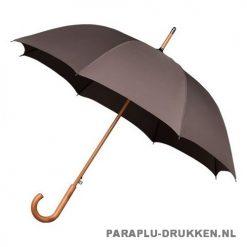 Luxe paraplu bedrukken LA-17 bruin