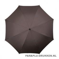 Luxe paraplu bedrukken LA-17 bruin top