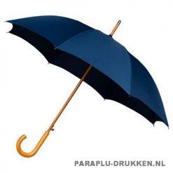Luxe paraplu bedrukken LA-17 navy