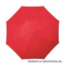 Luxe paraplu bedrukken LA-17 rood top