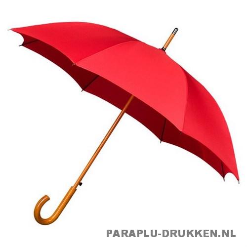 Luxe paraplu bedrukken LA-17 rood