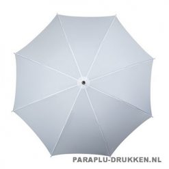 Luxe paraplu bedrukken LA-17 wit top